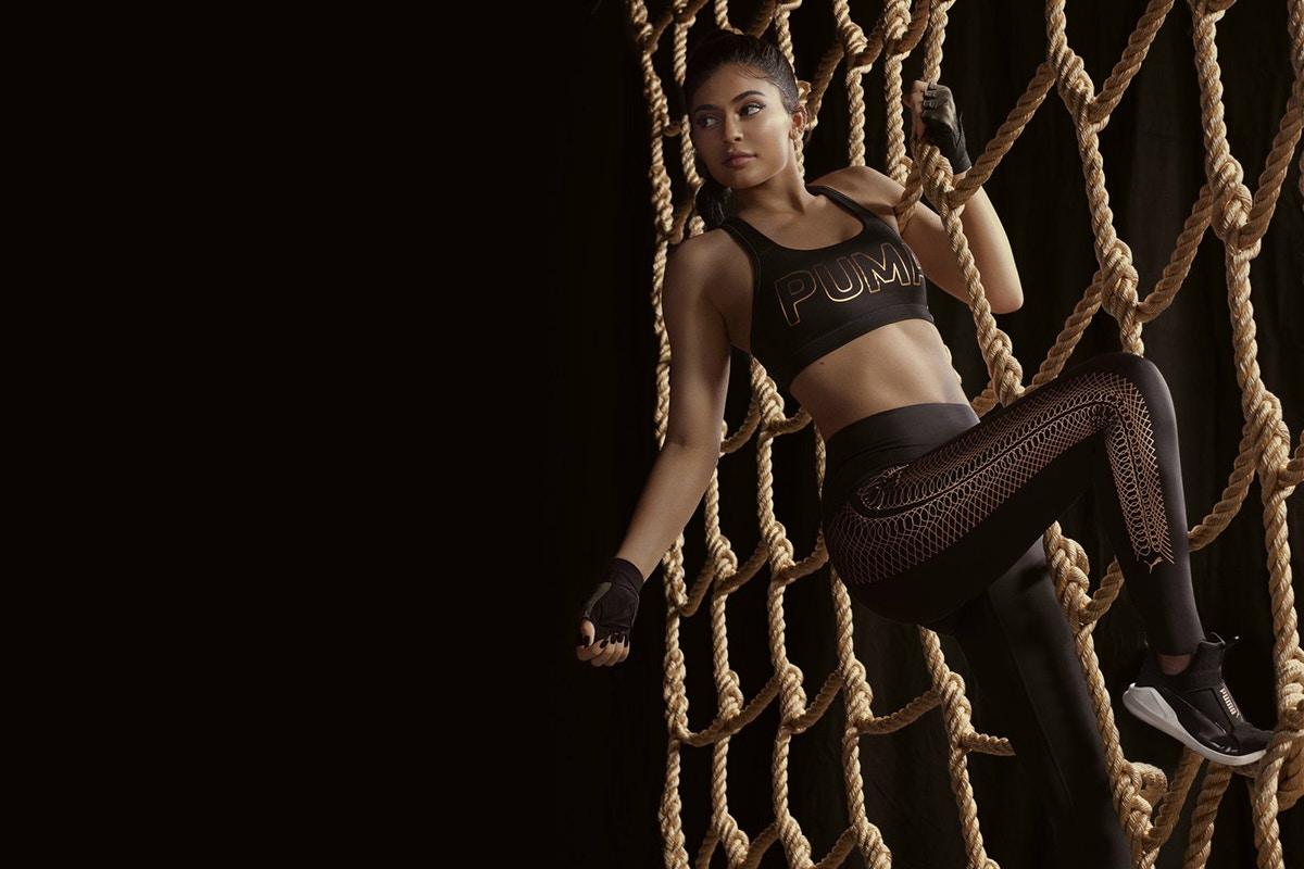 Kylie Jenner gwiazdą kolejnej kampanii Pumy