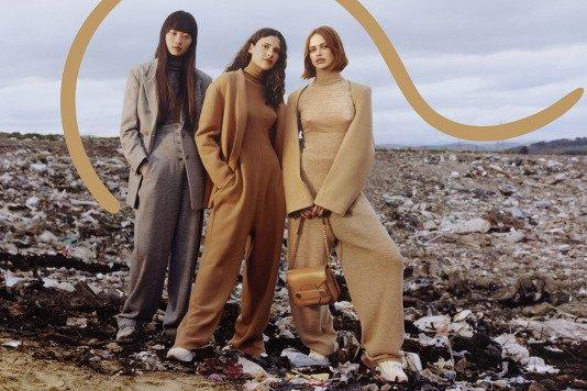 Problem konsumpcji i wysypisko śmieci w nowej kampanii Stelli McCartney