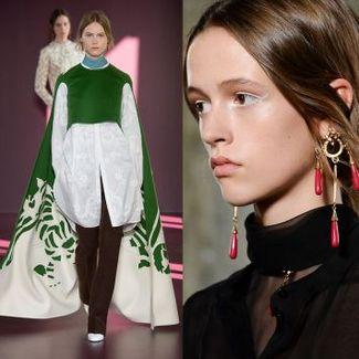 Sakralne inspiracje w kolekcji Valentino couture jesień-zima 2017