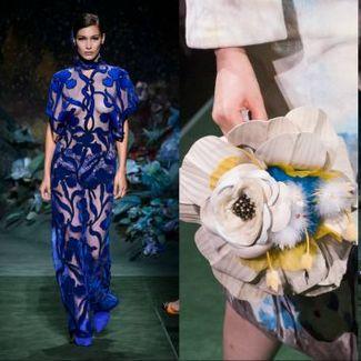 Tajemniczy ogród na pokazie Fendi haute couture jesień 2017
