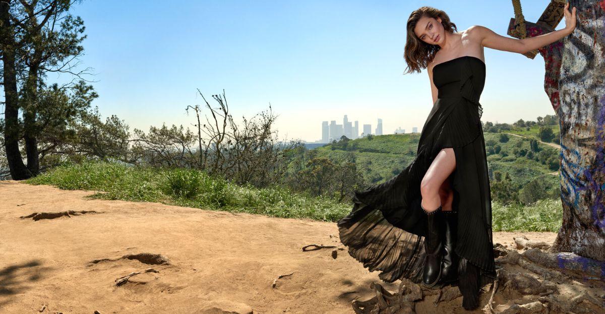 Miranda Kerr po raz trzeci twarzą kampanii Marella
