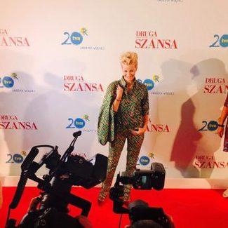 """Hot or not: Małgorzata Kożuchowska w garniturze na konferencji serialu """"Druga Szansa"""" [SONDA]"""