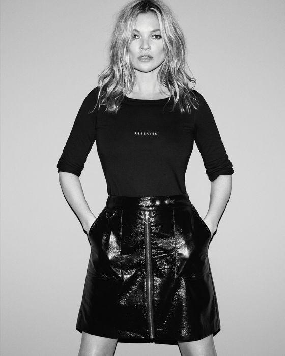 Są już pierwsze zdjęcia z kampanii Kate Moss dla Reserved!