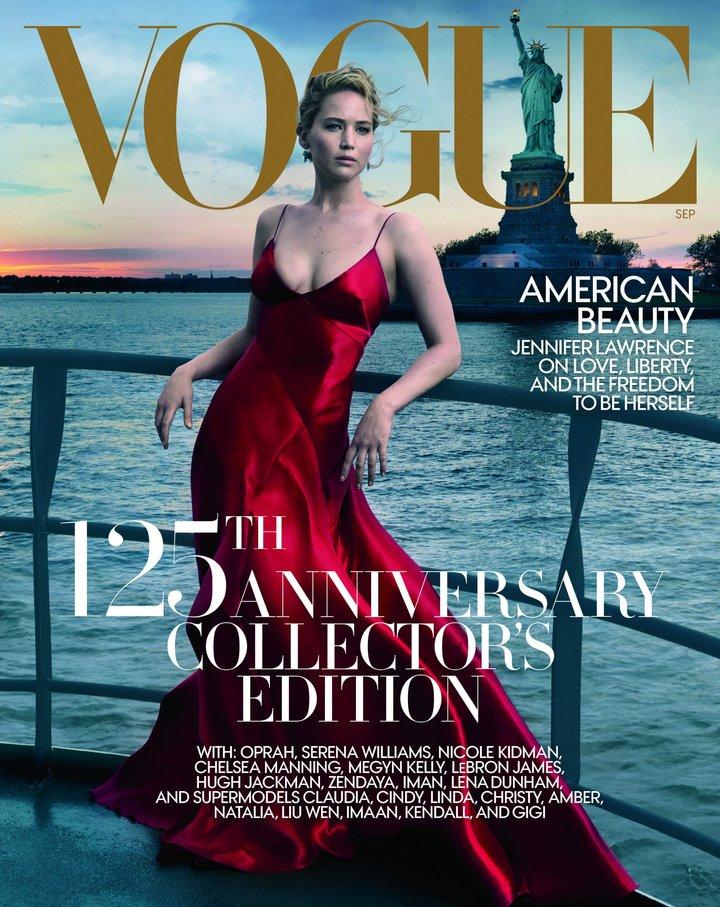 """""""Vogue"""" zaprezentował okładkę wrześniowego numeru i wywołał burzę w internecie"""