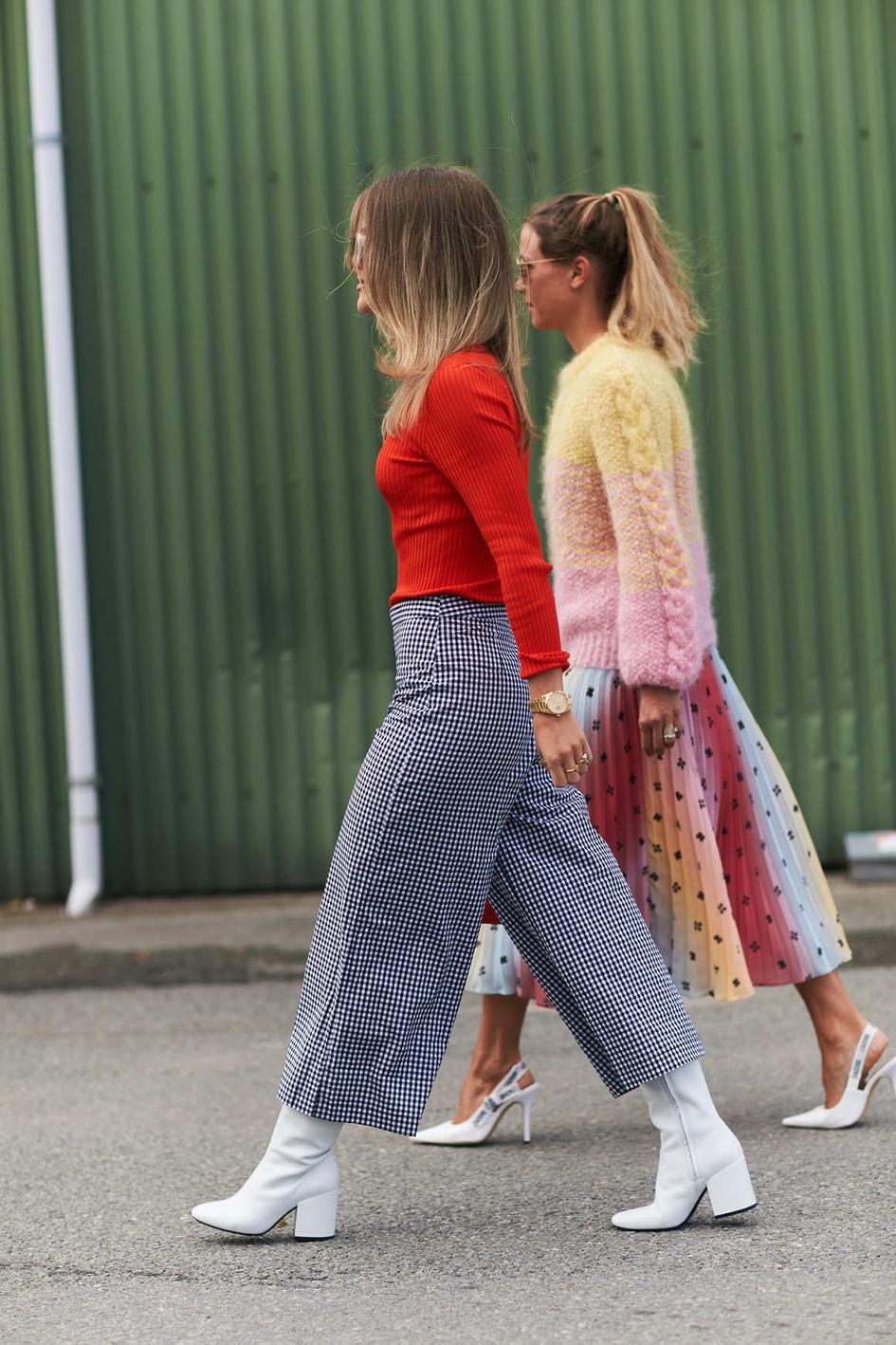 Moda uliczna: stylowe duety