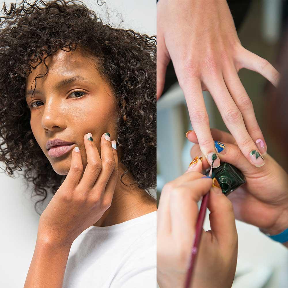 Najpiękniejsze paznokcie z tygodnia mody w Nowym Jorku wiosna-lato 2018