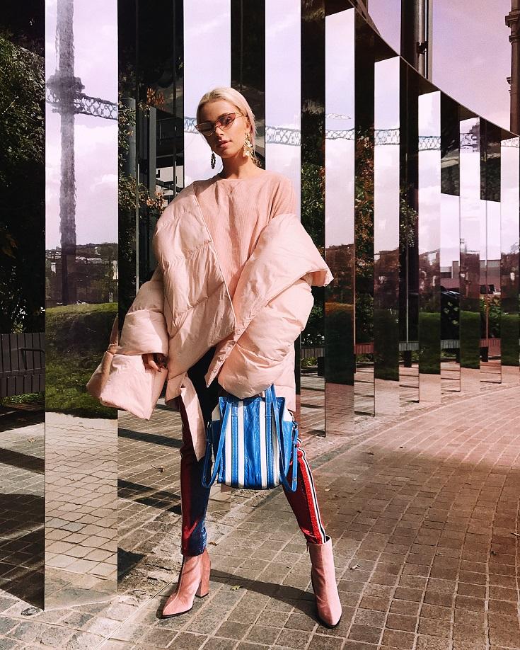 Hot ot not: Maffashion w różowej puchówce od MMC [SONDA]