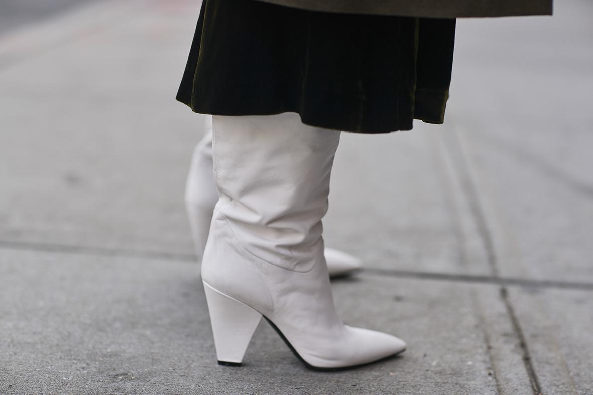 Białe buty były hitem podczas tygodnia mody w Nowym Jorku!