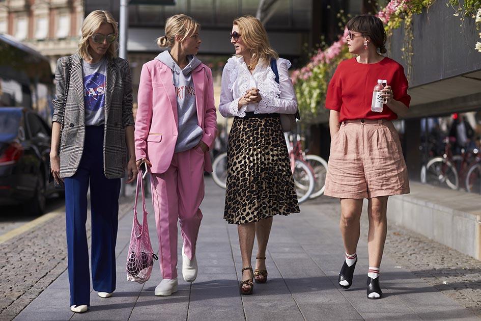 Street style: tydzień mody w Sztokholmie wiosna-lato 2018