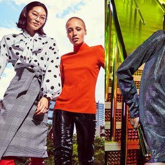 Naomi Campbell, Adwoa Aboah i Camille Rowe w jesiennej kampanii H&M