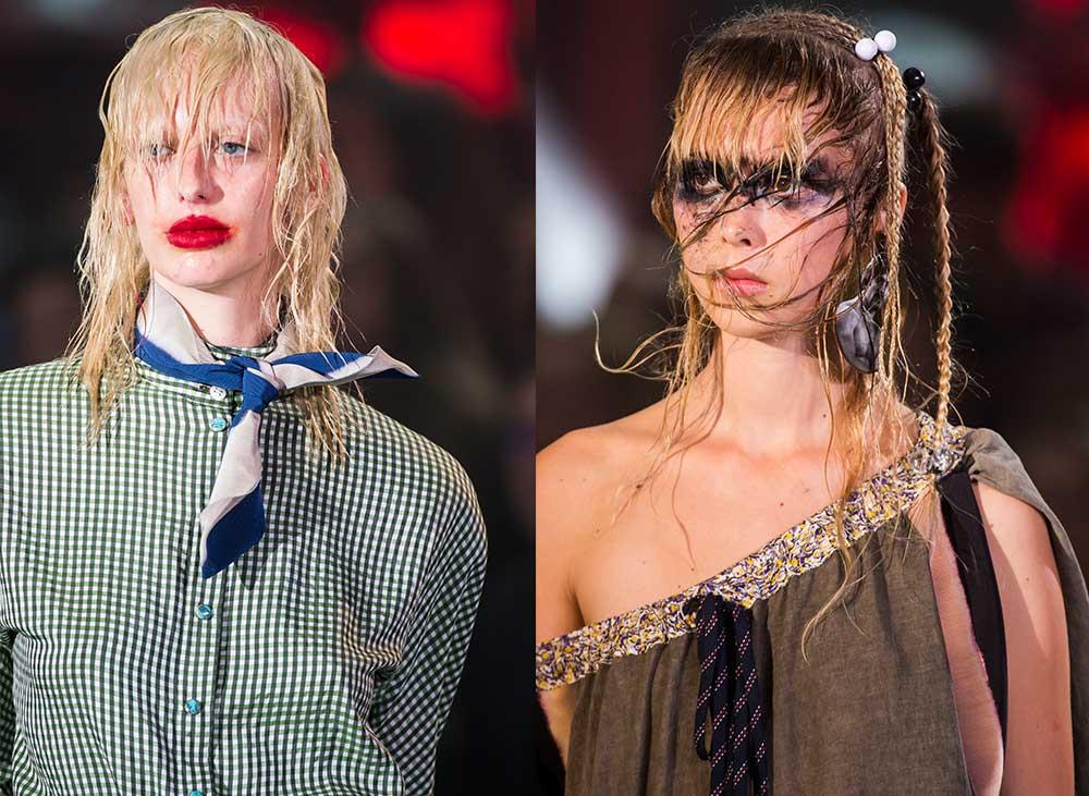 Makijaże i fryzury z wybiegu idealne na halloweenową imprezę