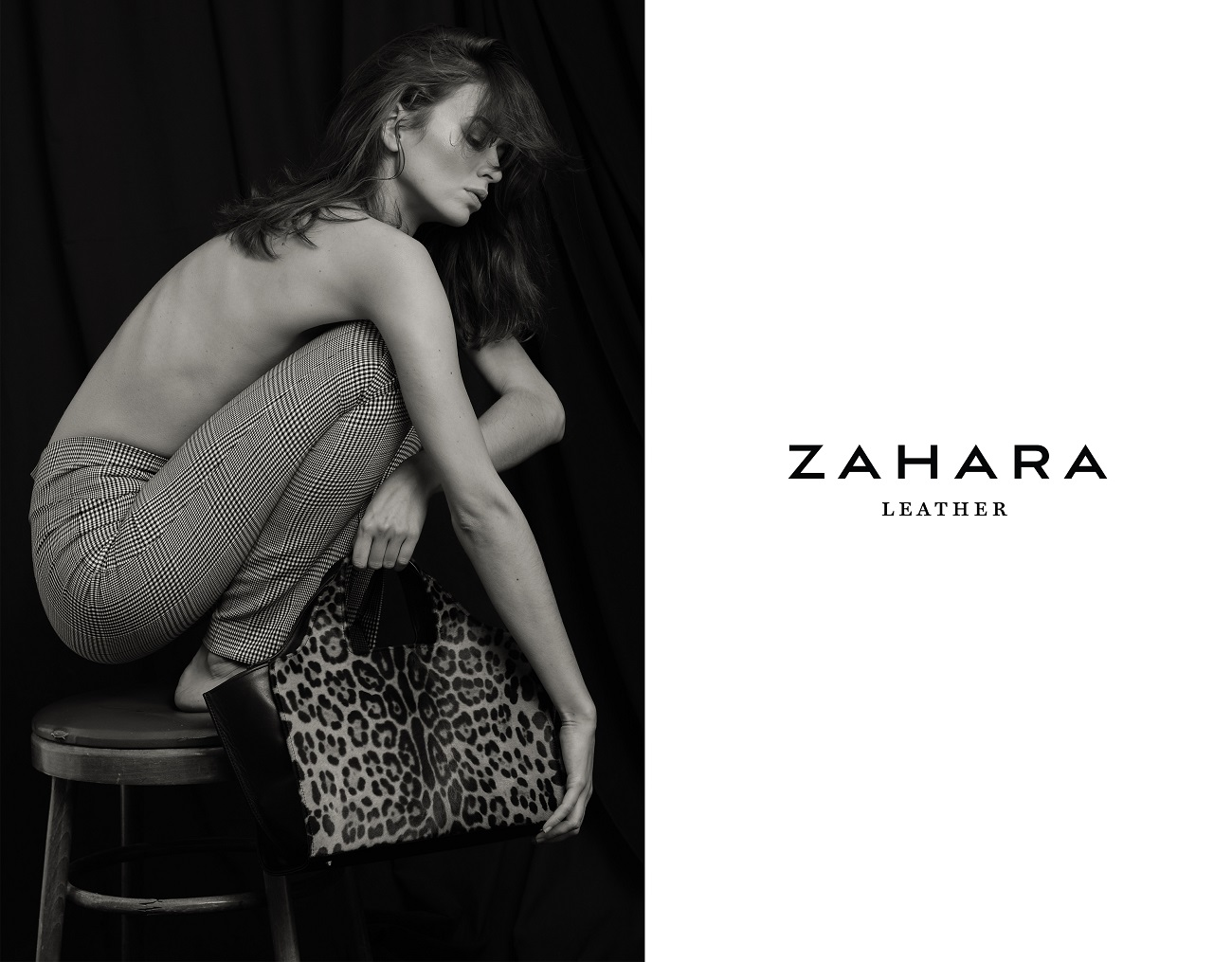 Zwierzęca egzotyka w najnowszej kampanii Zahara Leather