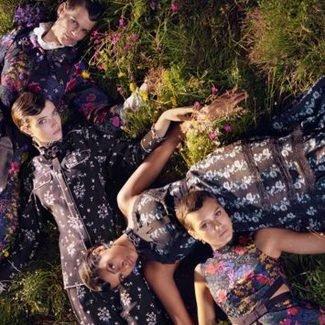 Sielskie klimaty i plejada gwiazd modelingu w kampanii Erdem x H&M