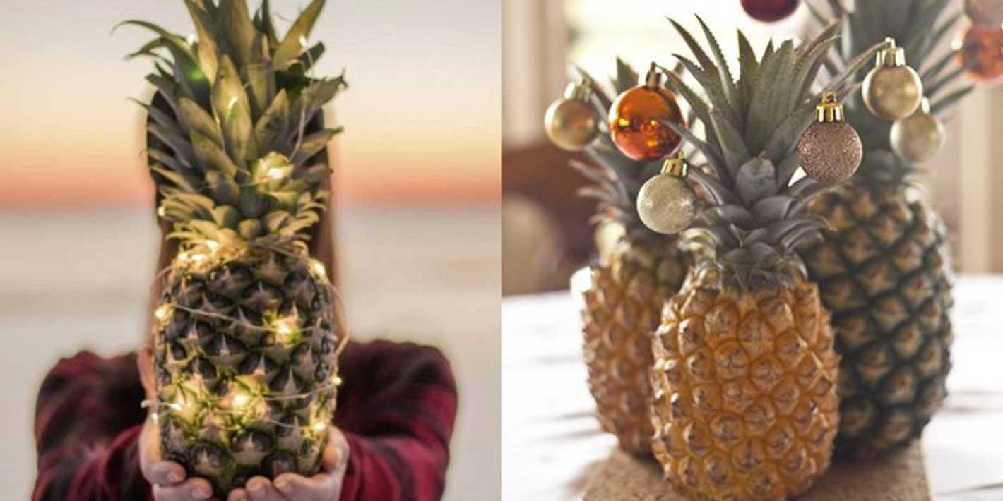 Zamiast choinki przystrój… ananasa! Oto nowy trend w sieci