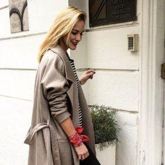 Kochamy ten look: Anna Nowak w płaszczu Entelier