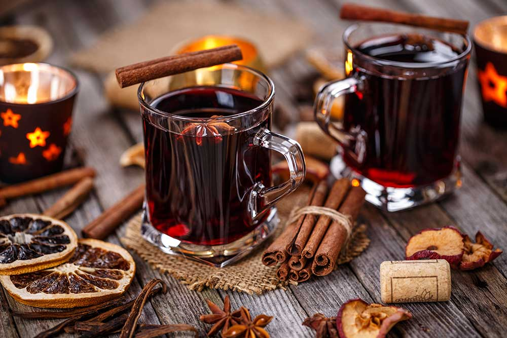 Rozgrzewające napoje na jesień