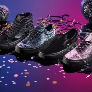 Karnawałowa kolekcja Vans Luxe Velvet