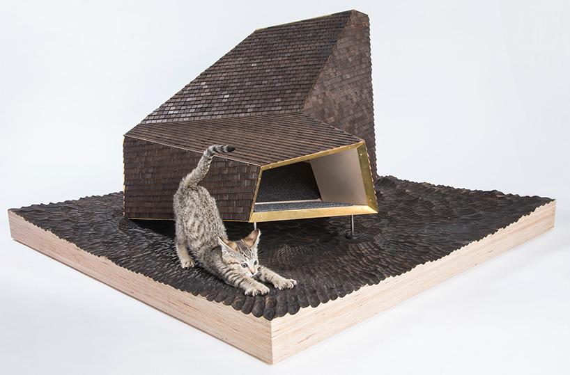 Architekci stworzyli piękne schrony dla bezdomnych kotów. Zobaczcie!