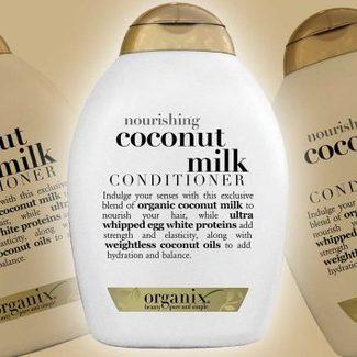 """Redakcja poleca: kokosowa odżywka do włosów """"Coconut Milk"""" Organix"""