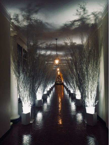 To najbardziej posępny wystrój Białego Domu od lat. Zobacz, jak zareagowała na to sieć