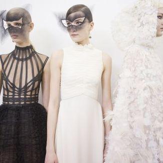 Czerń i biel, czyli pokaz Dior haute couture wiosna-lato 2018