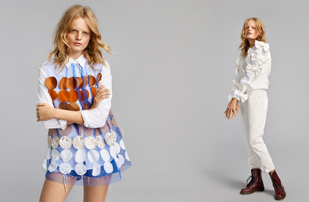 Viktor&Rolf wspólnie z Zalando dają nowe życie odzieży i tworzą kolekcję z tkanin z recyklingu!