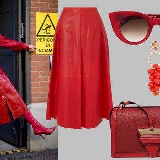 Fashion Street: odtwarzamy stylizację w czerwieni