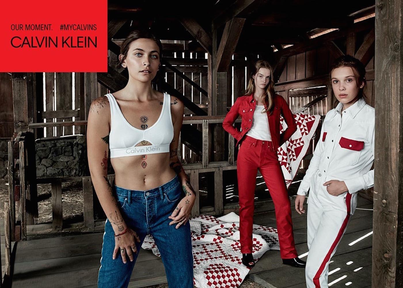 Millie Bobby Brown i Paris Jackson łączą siły w najnowszej kampanii Calvin Klein