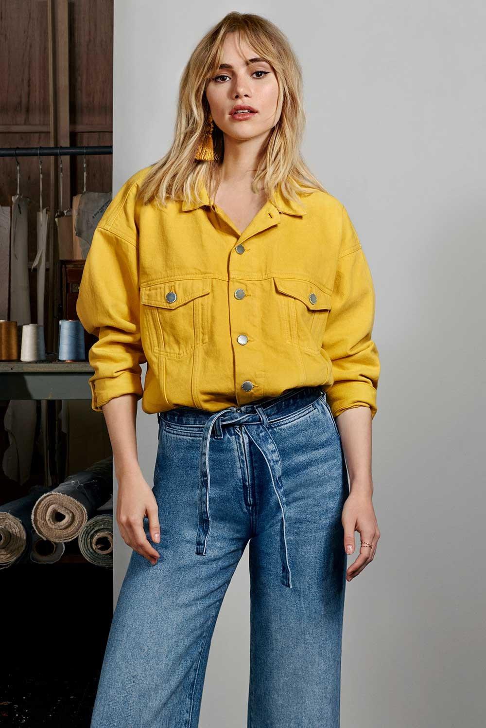 Suki Waterhouse w najnowszej denimowej kampani H&M