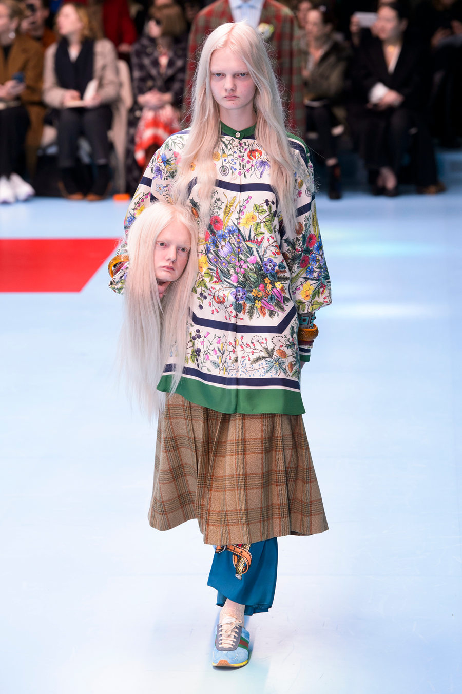 Zaskakujący pokaz Gucci w czasie Mediolańskiego Tygodnia Mody!