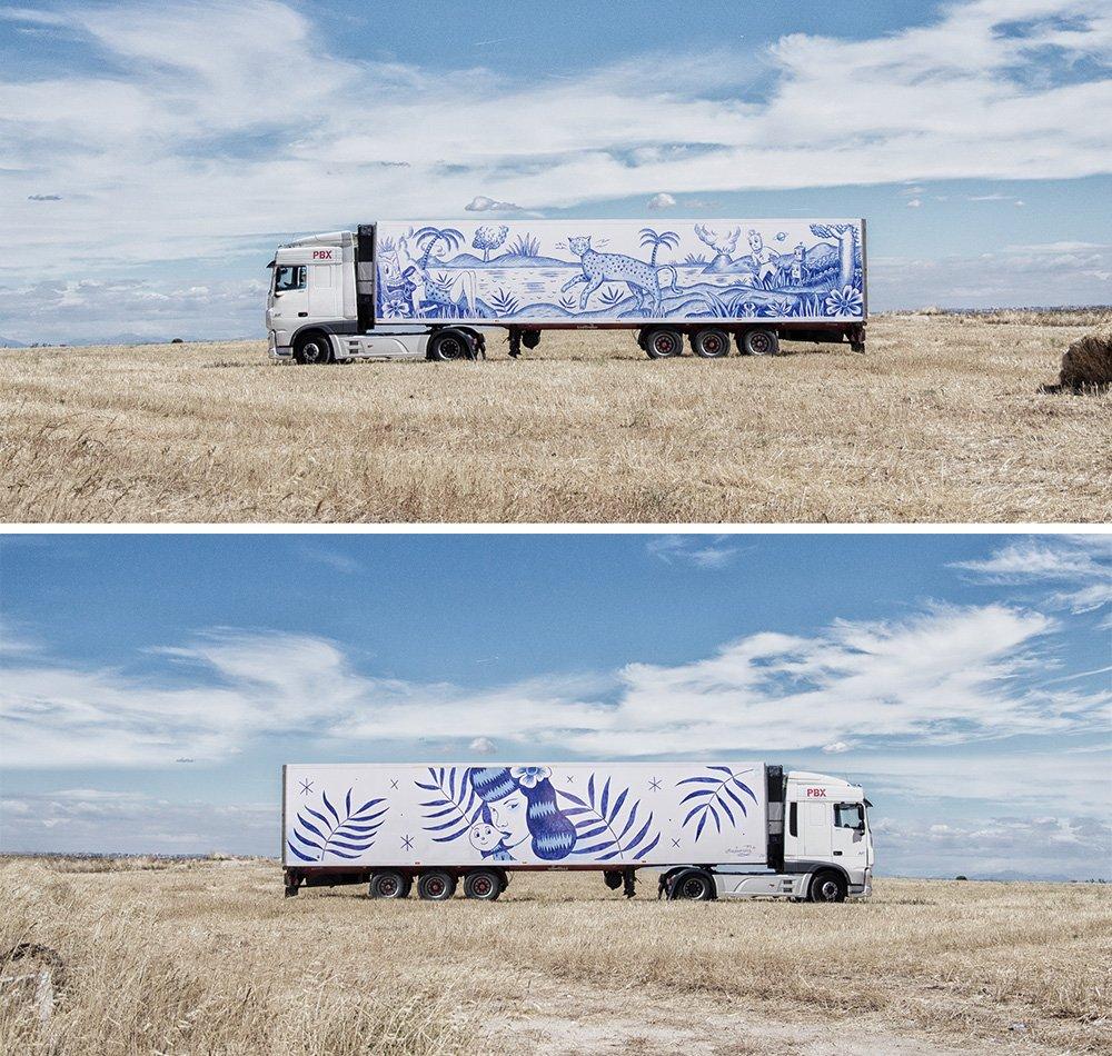Sztuka wyjeżdża z muzeum, czyli nowy projekt The Truck Art!