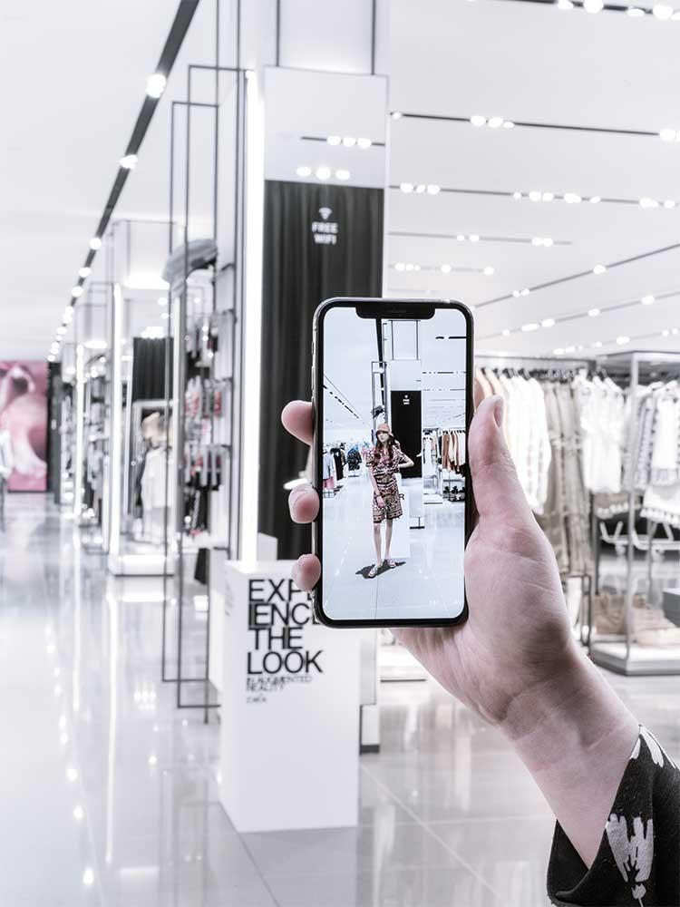 Witajcie w przyszłości, Zara wprowadza rozszerzoną rzeczywistość do swoich sklepów