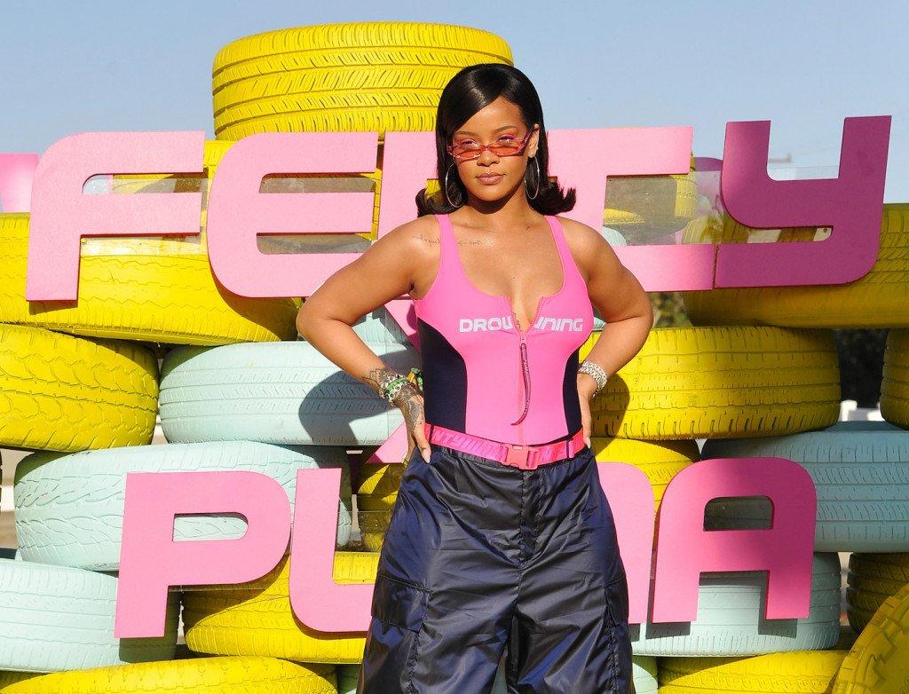 Premiera kolekcji Fenty Puma na domówce w trakcie festiwalu Coachella