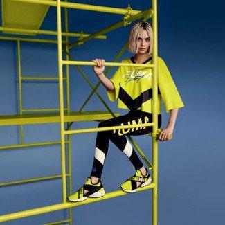 PUMA, nowy model Muse Cut Out, kolorystyczne orzeźwienie i Cara Delevingne! Sprawdźcie jaki mają wspólny mianownik!