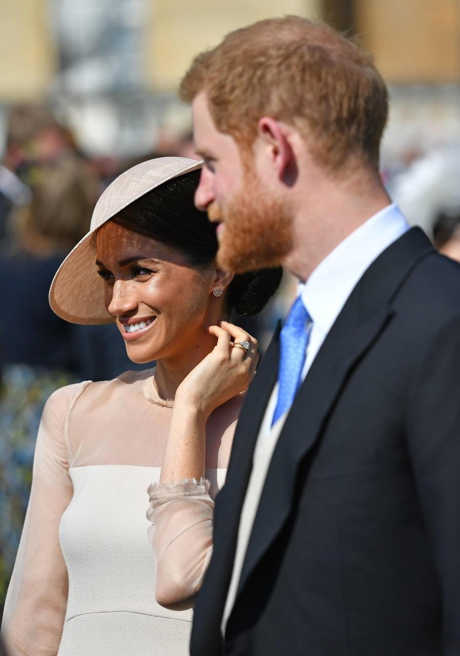 Meghan Markle po raz pierwszy już oficjalnie jako księżna Sassex na imprezie urodzinowej