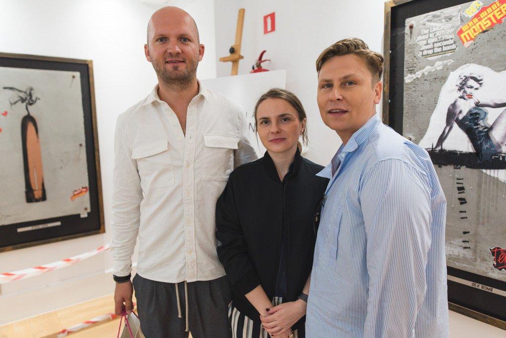 Dawid Tomaszewski już po raz trzeci stworzył kolekcję wspólnie z marką Patrizia Aryton