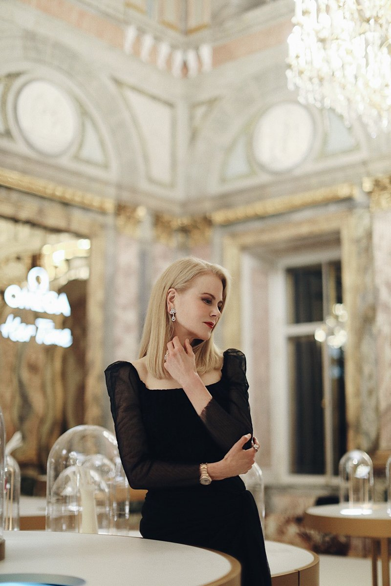 """Nicole Kidman i Magdalena Boczarska na otwarciu wystawy OMEGA """"Her Time"""""""