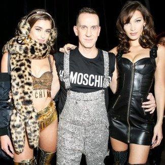 Pokaz kolekcji Moschino x H&M w nowojorskim Public Hotel