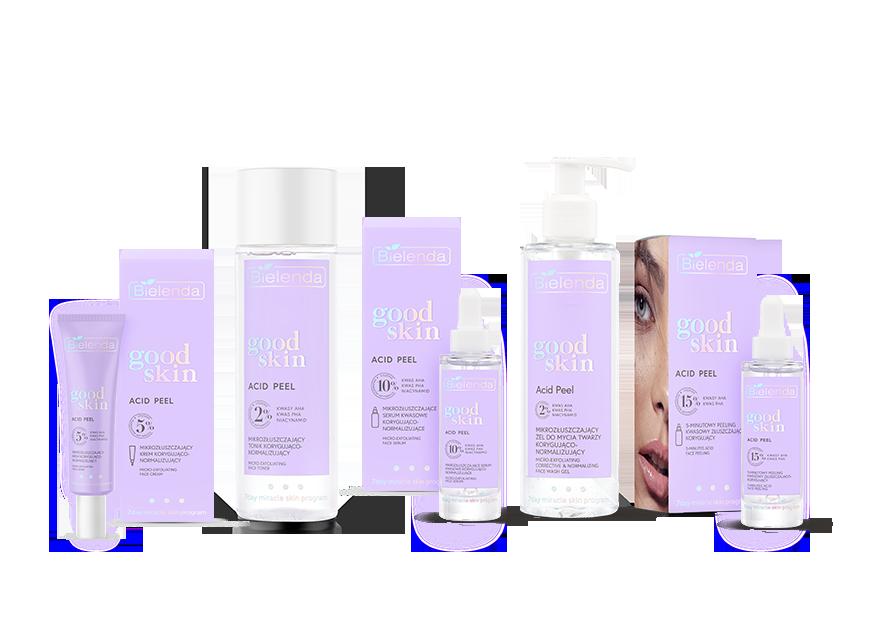 Bielenda Good Skin Acid Peel – mikrozłuszczanie kawasami AHA iPHA