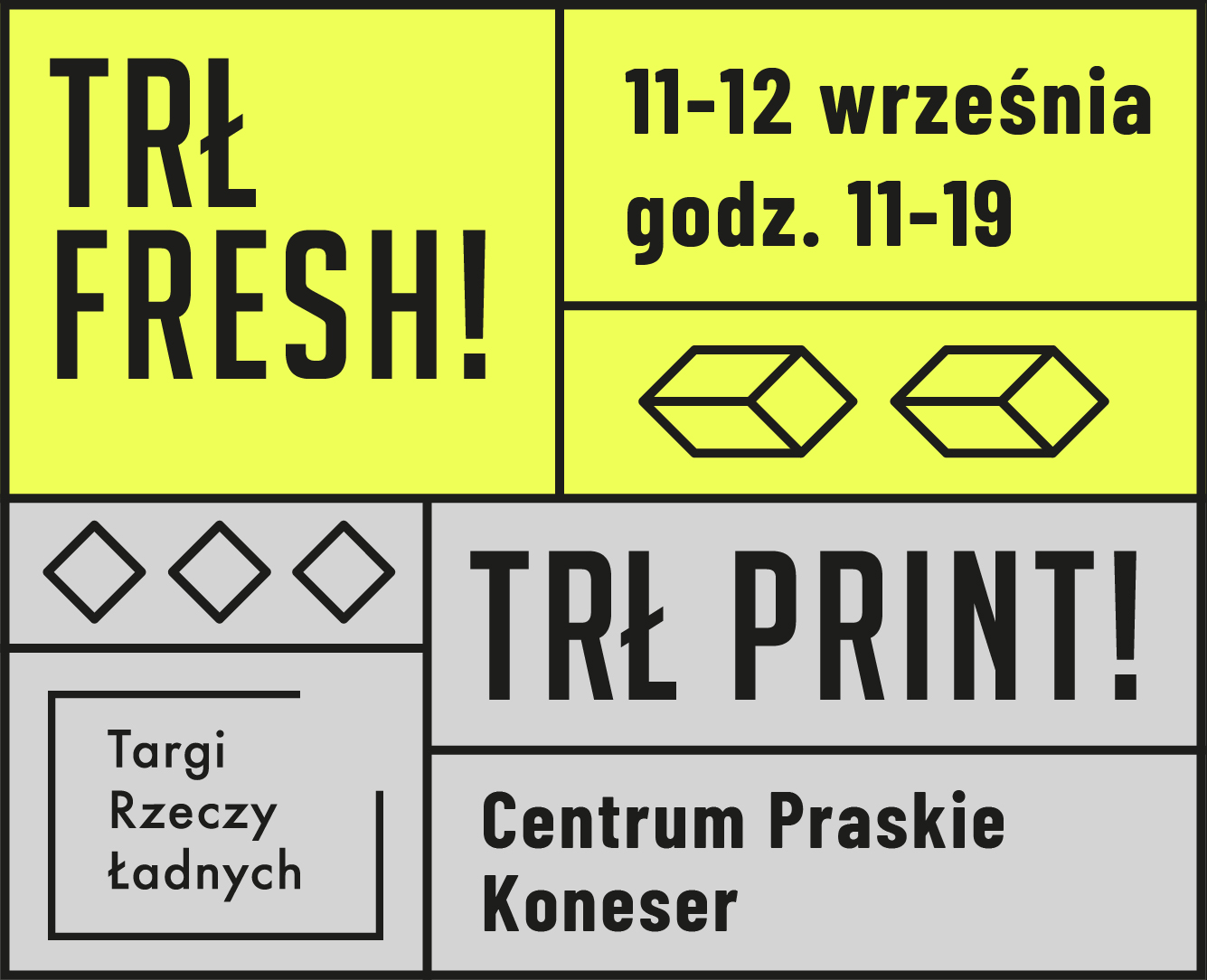 Polski design znów wWarszawie! TRŁ FRESH! otwiera nowy sezon Targów Rzeczy Ładnych