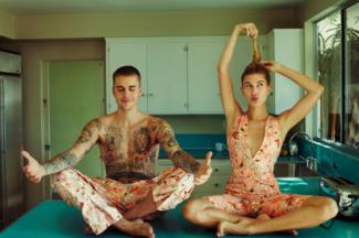 Justin Bieber i Hailey Baldwin na wspólnej okładce!